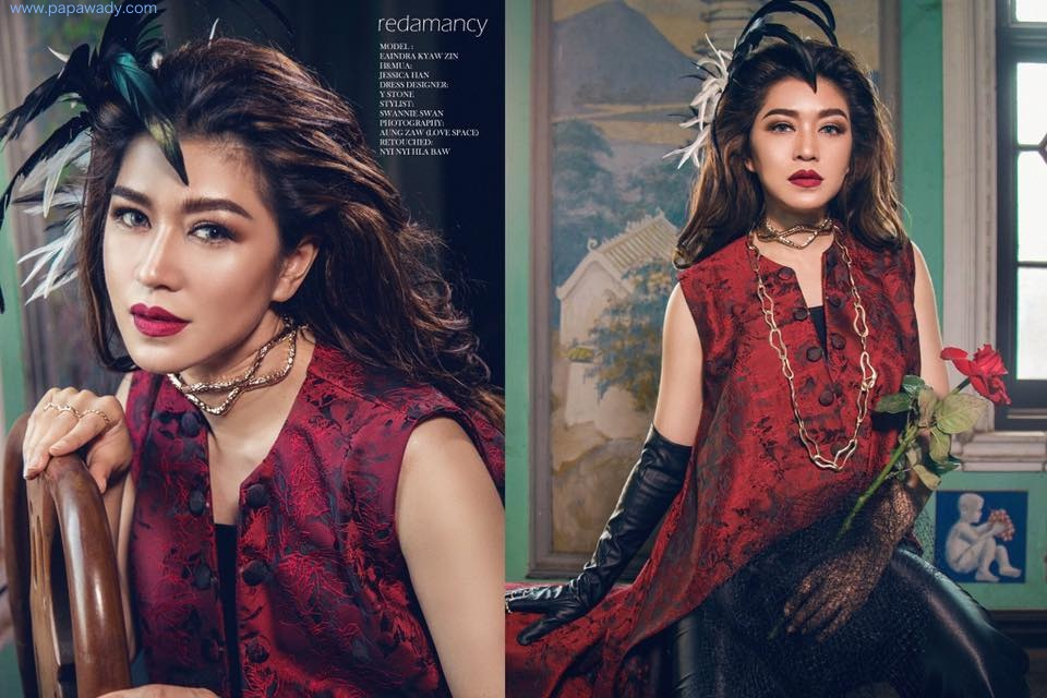 Redamancy Eaindra Kyaw Zin Amazing Fashion Photoshoot By Love Space Studio