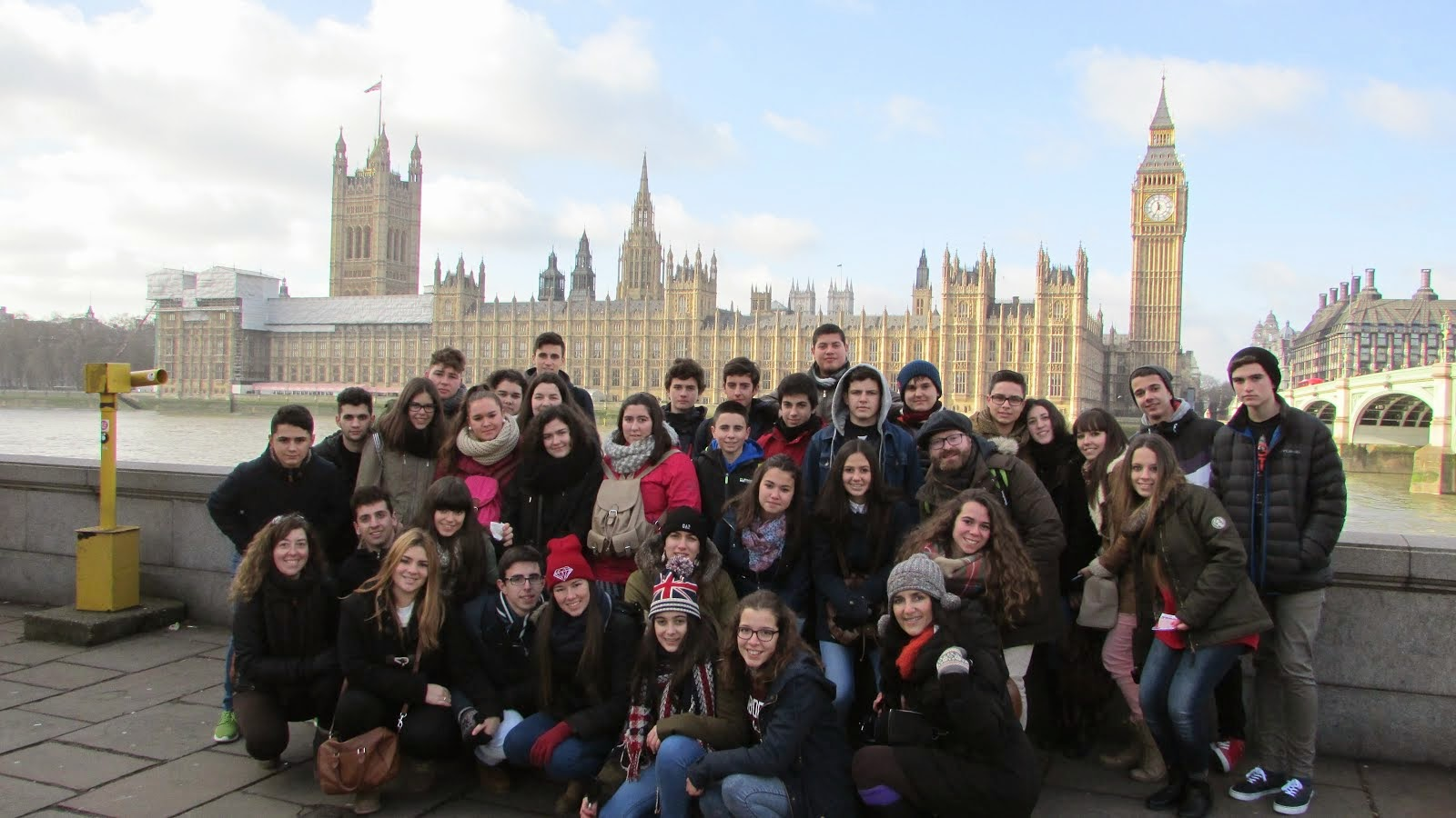 London Trip 2015. Great Students and Great Experience! Thanks everybody!!