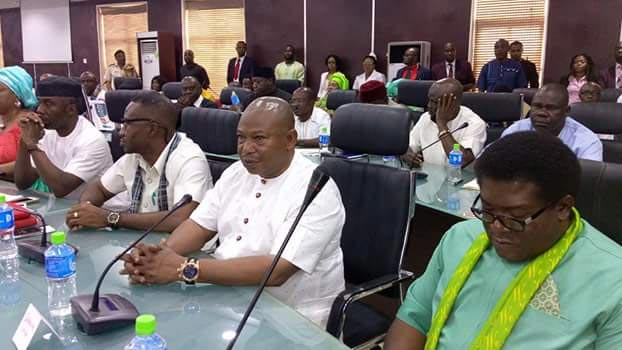 Photos: Okorocha, Iwuanyanwu, others at South East August Meeting 2016