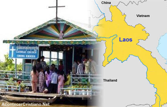 Persecución iglesia cristiana en Laos