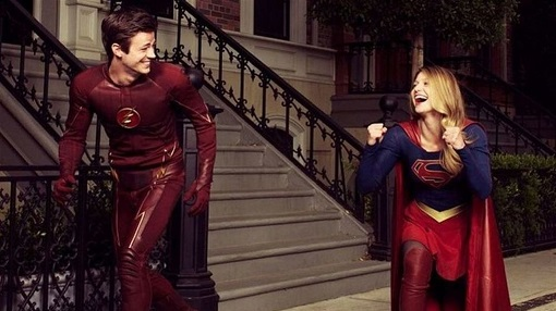 crossover supergirl flash