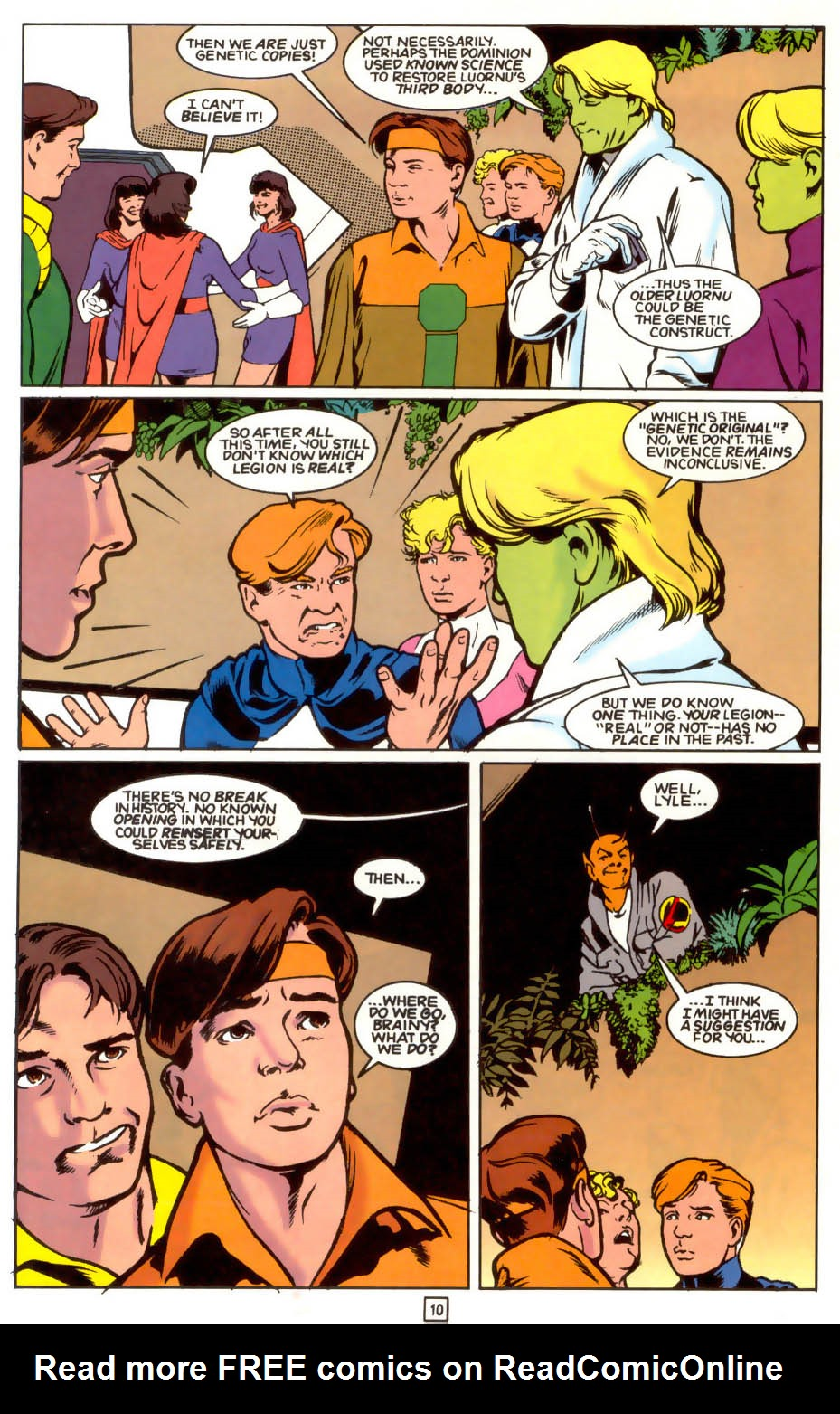 Legion of Super-Heroes (1989) 41 Page 10
