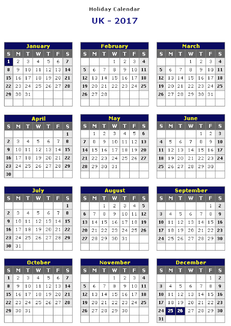 uk calendar 2017, 2017 calendar uk, calendar for 2017 uk, 2017 calendar uk printable, 2017 printable calendar uk, holidays in united kingdom, england calendar, Holidays in uk
