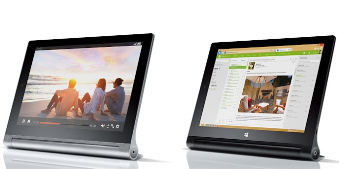 Lenovo YOGA Tablet 2 officially announced with Android or Windows options