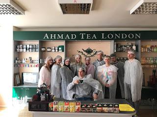 Екскурсія до Чайної Фабрики Ахмад Ті