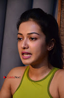 Actress Catherine Tresa Pos during Self Dubbing for Gautham Nanda Movie  0011.JPG