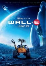 """Carátula del DVD: """"Wall-E"""""""