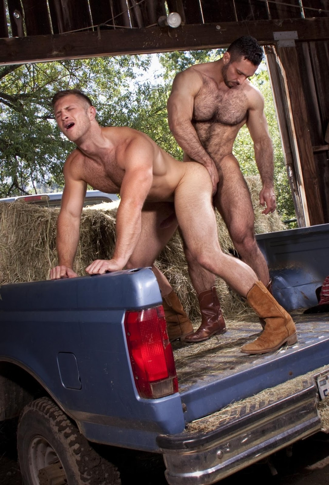 Gay cowboy rape porn