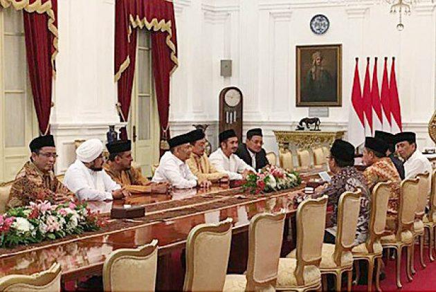 Kepada Presiden Jokowi, GNPF: Selama ini Hukum Seakan Tajam atas Umat Islam