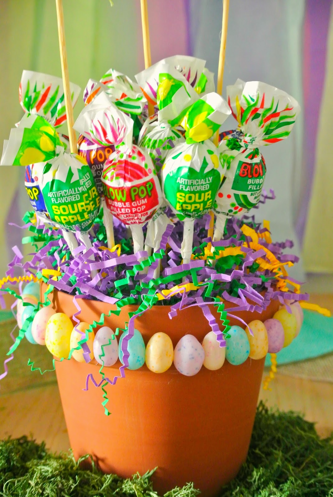 Blow Pops, Candy Bouquet