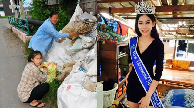From Being A Garbage Collector, This Woman Is Now A Crowned Beauty Queen!