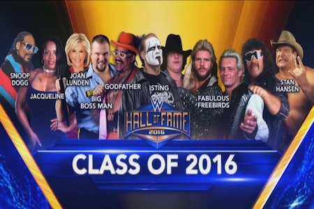 WWE Hall of Fame 2016 Download