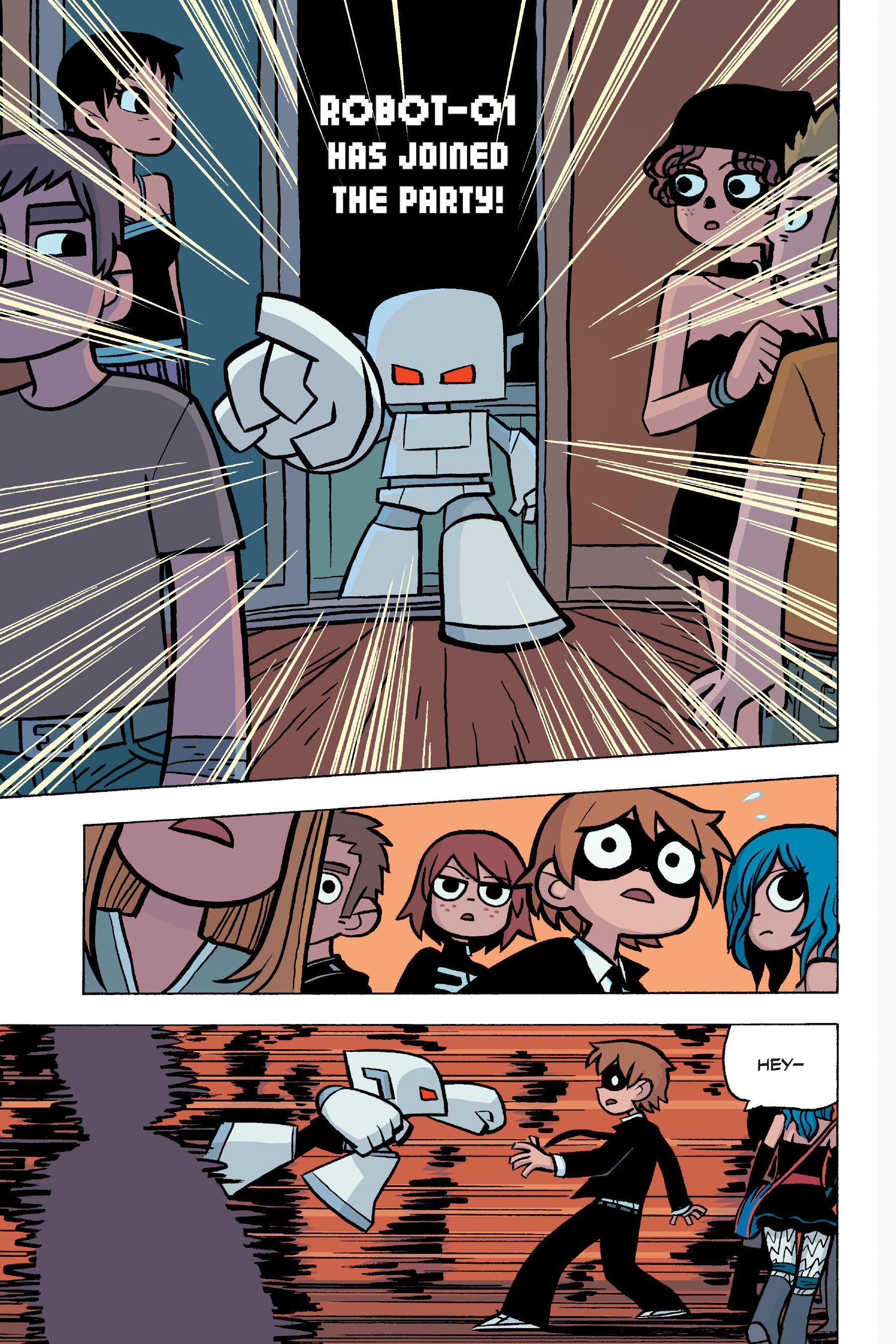Read online Scott Pilgrim comic -  Issue #5 - 14