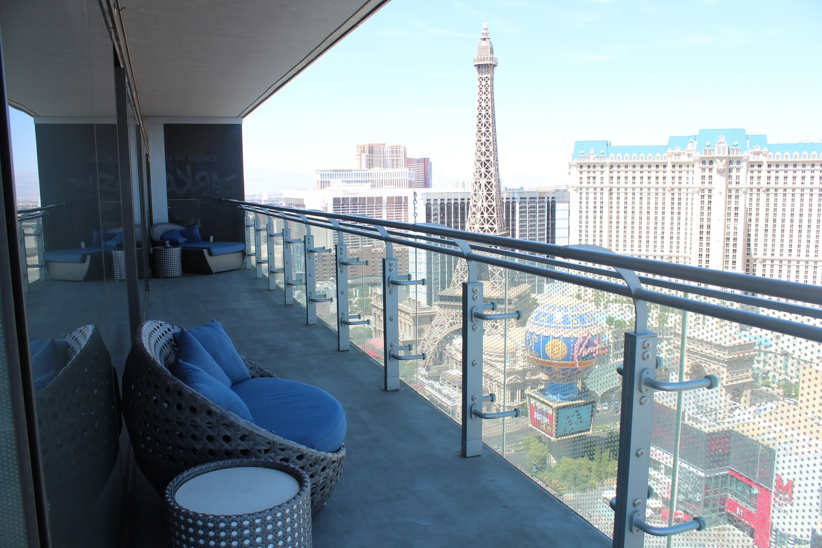 the shirley diaries wraparound terrace suite at the cosmo