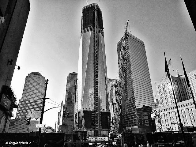 One World Trade Center under construction - NYC