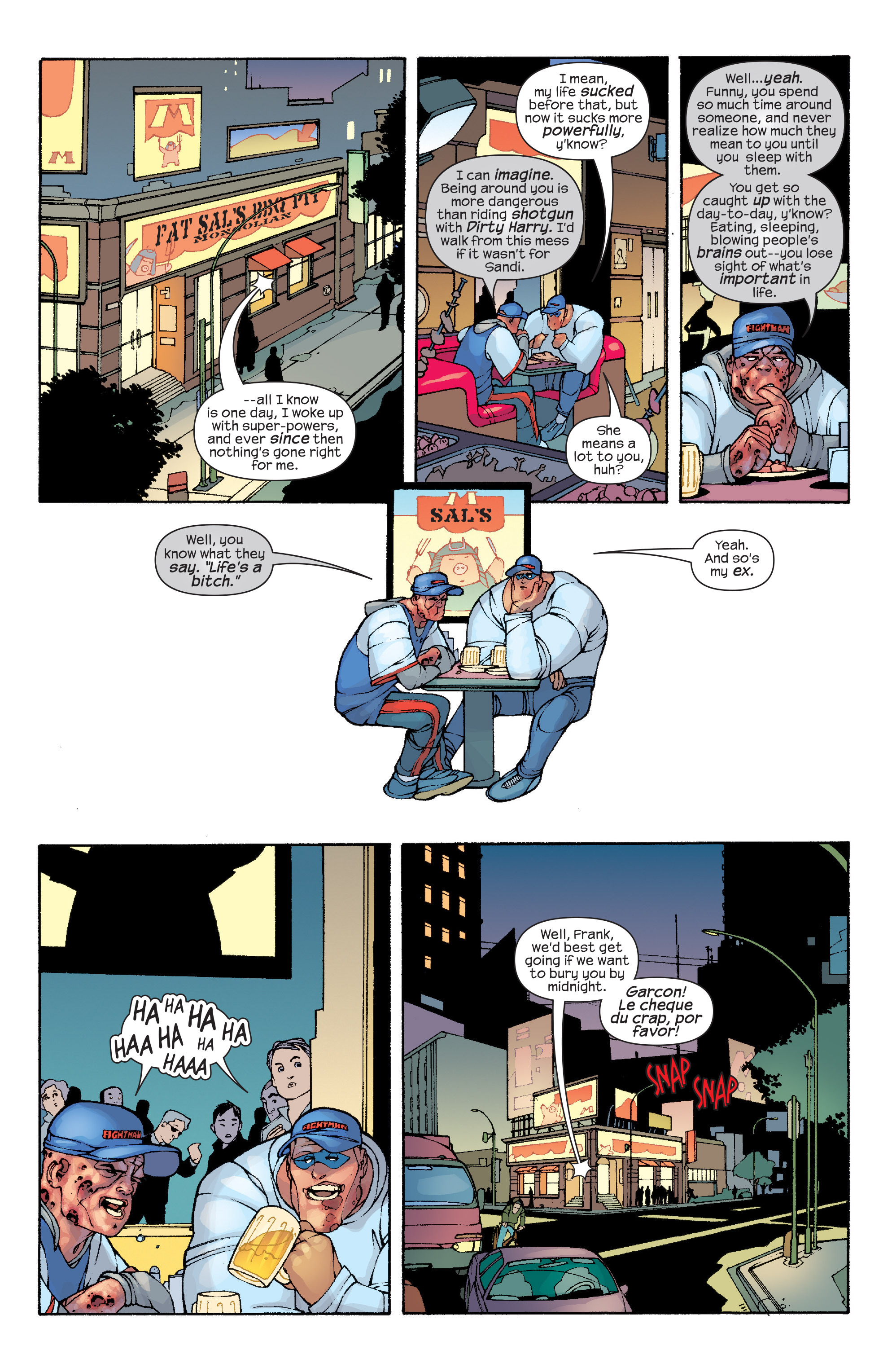 Read online Agent X comic -  Issue #10 - 20