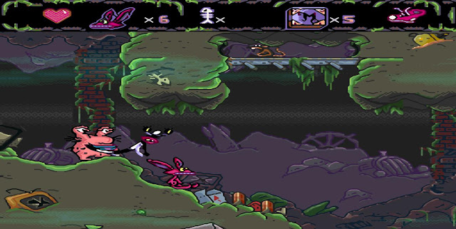Aaahh !!! Real Monsters - SNES - Captura 3