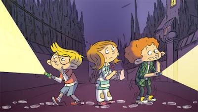 Lola, Isidore et Jules les trois Détectives en herbe mènent l'enquête
