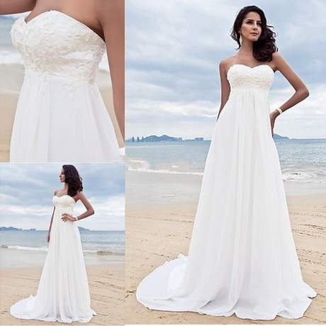 vestidos de novia playa civil