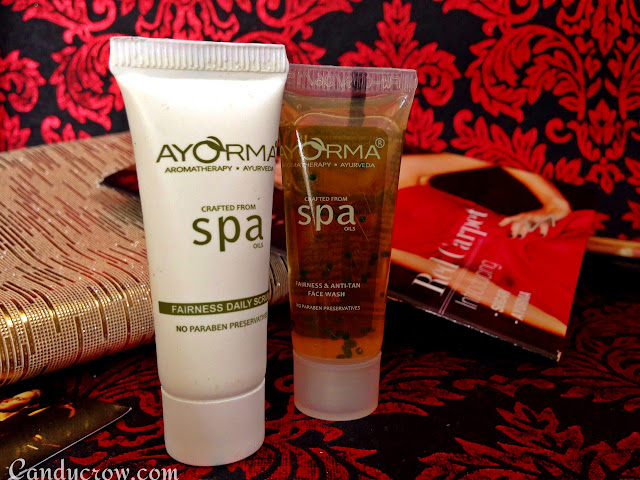 July Fab Bag 2015 Review, ayorma face wash and scrub