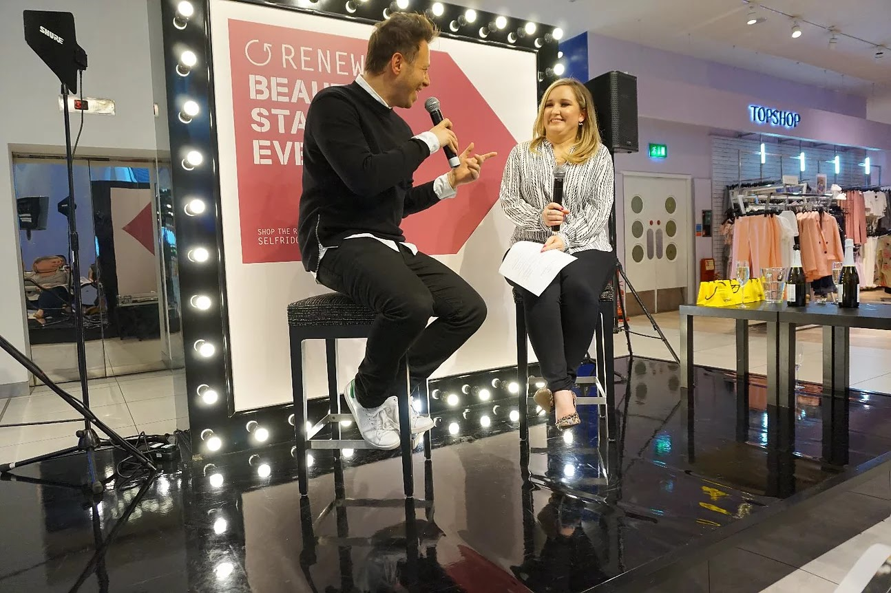 Q&A Selfridges beauty Rose Gallagher and celebrity hairdresser Luke Hersheson