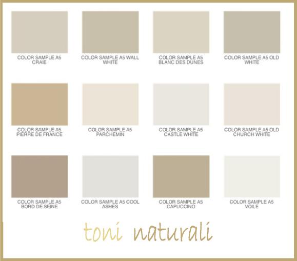 Oltre al bianco e al nero, tutte le possibili gradazioni del beige e del grigio, tra cui quel beige grigio molto di moda che è il color tortora. Palette Di Colori Naturali Dettagli Home Decor