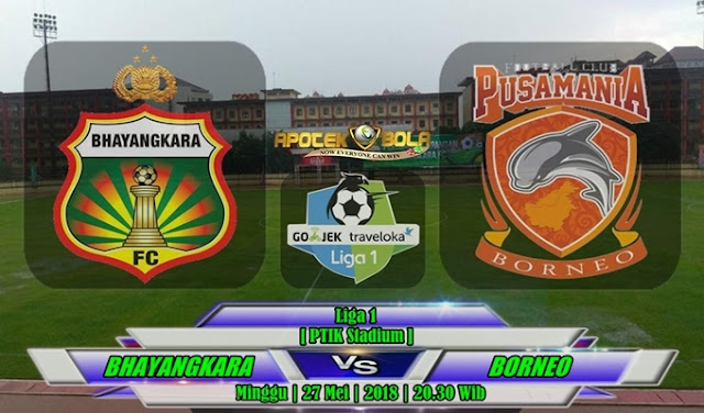 Prediksi Bhayangkara FC vs Pusamania Borneo 27 Mei 2018