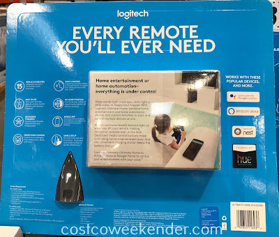Costco 1008834 - Get rid of the clutter and consolidate with the Logitech Harmony Ultimate Home Universal Remote