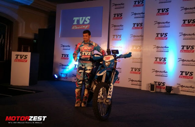 Aravind KP Sherco-TVS Team In Dakar Rally 2017