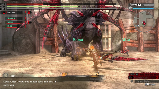 GOD EATER Resurrection PC Download Full Version Gameplay 1