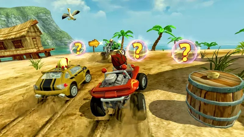 beach buggy android kart racing game