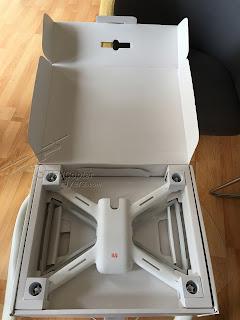 Xiaomi Mi Drone 1080P Quadcopter White Unboxing