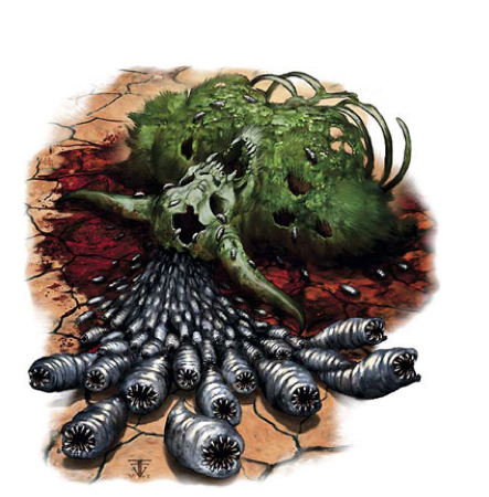 Planar Adventures For Dummies Ecology Of The Rot Grub Slime