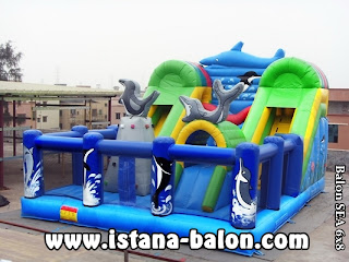 Istana Balon Sea 6x8