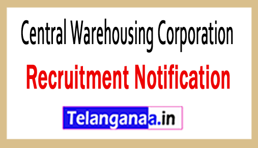 Central Warehousing Corporation CWC Recruitment