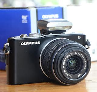 Mirrorless Olympus E PL3 Second