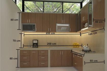 60 Referensi Gambar Model Dapur Minimalis Sederhana Tapi Mewah
