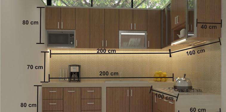 Dekorasi Desain Dapur Minimalis Sederhana Terbaru