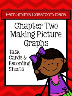 Fern Smith's Classroom Ideas Making Picture Graphs Task Cards, Recording Sheets and Answer Keys with no Common Core at TeacherspayTeachers.