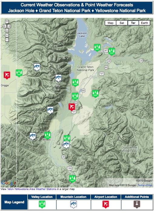The Weather Access Map for Jackson Hole   Mountain Weather on washington satellite map, california satellite map, nebraska satellite map, los angeles satellite map, texas satellite map, oahu satellite map, salt lake city satellite map,