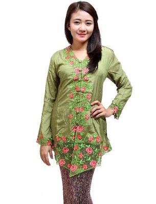 Baju Kebaya Batik Kartini Modern Terbaru