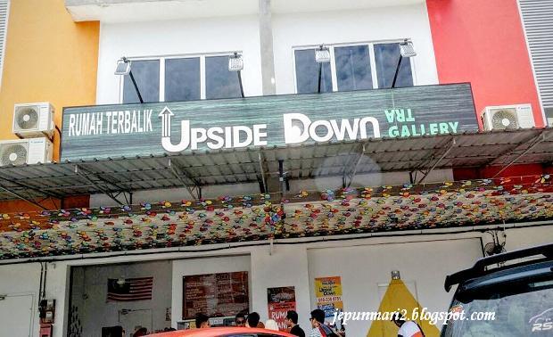 rumah terbalik upside down port dickson