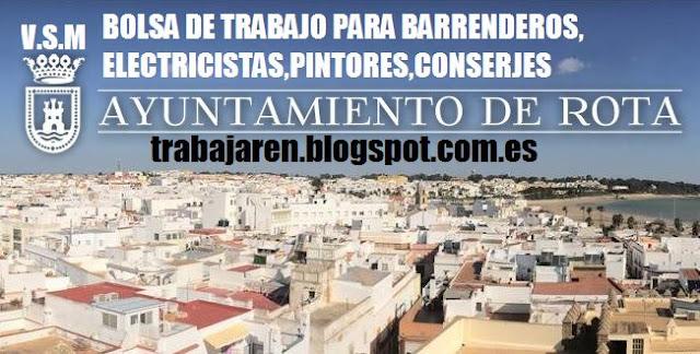 BOLSAS DE TRABAJO PARA AUXILIAR DE TURISMO,BIBLIOTECA,ELECTRICISTA,CONDUCTOR DE AUTOBÚS