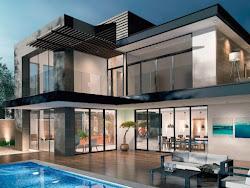 Soy Arquitectura: Fachadas de casas modernas