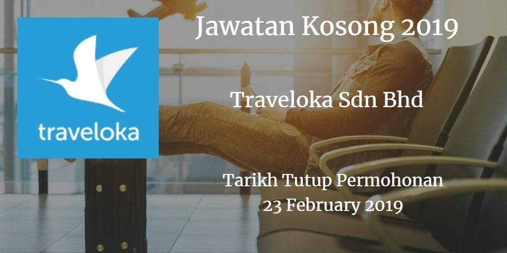 Jawatan Kosong Traveloka Sdn Bhd 23 February 2019