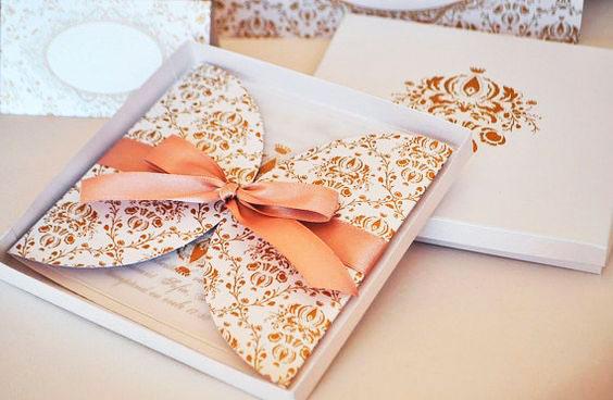 Convite caixa para debutante, tradicional