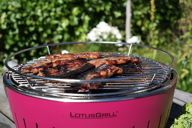 Lotus Grill, Koreansk Bbq, grilling, Bordgrill,