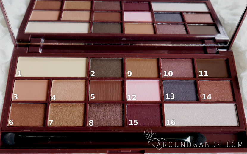 i heart chocolate palette paleta de i heart makeup  chocolate bar clon
