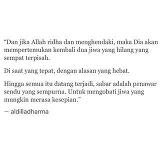 Quote Aldila Dharma Wijaya Tentang Cinta
