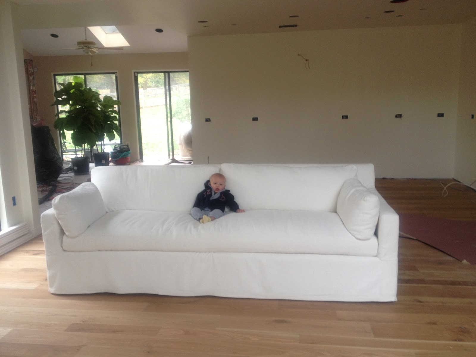 Let s Talk about my white sofa